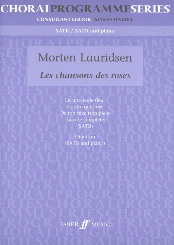 Les Chansons des Roses - Morten Lauridsen - laflutedepan.com
