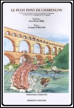 Le Petit Pont de Charençon Jean-Pierre Neel Partition laflutedepan