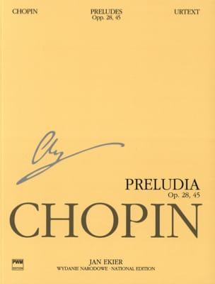 Préludes Opus 28 et 45 CHOPIN Partition Piano - laflutedepan