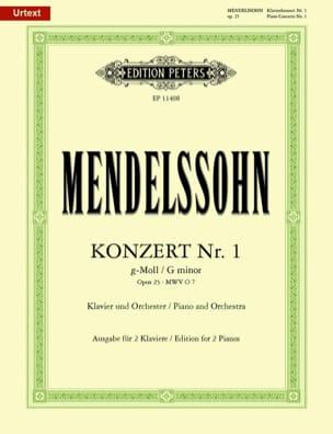 Concerto pour piano n° 1 Opus 25 en sol mineur laflutedepan