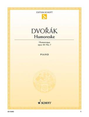 Humoreske Opus 101-7 DVORAK Partition Piano - laflutedepan