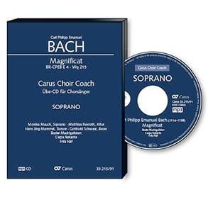 Magnificat Wq 215 - CD Basse CHOEUR - laflutedepan.com