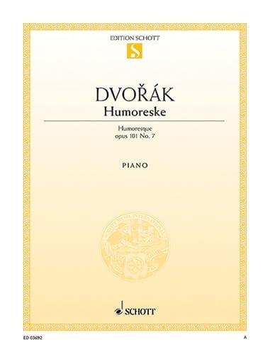 Humoreske Opus 101-7 - DVORAK - Partition - Piano - laflutedepan.com