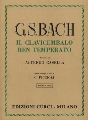 Le Clavier Bien Tempéré Volume 2 BACH Partition Piano - laflutedepan