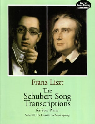 The Schubert Songs Transcriptions Serie 3 LISZT Partition laflutedepan