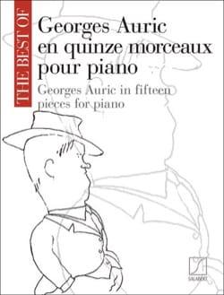 Georges Auric en 15 Morceaux pour Piano Georges Auric laflutedepan