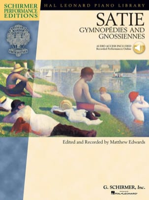 Gymnopédies et gnossiennes SATIE Partition Piano - laflutedepan