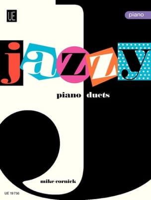 Jazzy Duets Piano. Volume 1. 4 Mains Mike Cornick laflutedepan