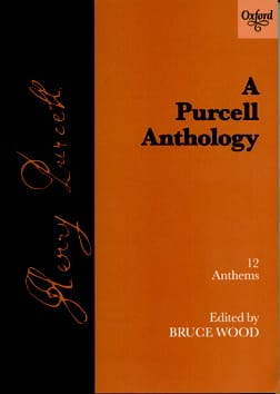 12 Anthems PURCELL Partition Chœur - laflutedepan