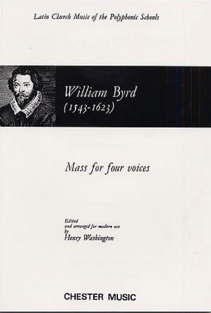 Messe A 4 Voix Willam Byrd Partition Chœur - laflutedepan