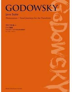 Java Suite - GODOWSKY - Partition - Piano - laflutedepan.com