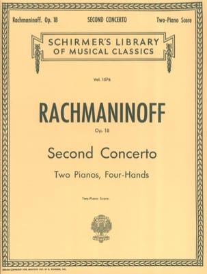 Concerto pour piano n° 2 Opus 18 RACHMANINOV Partition laflutedepan