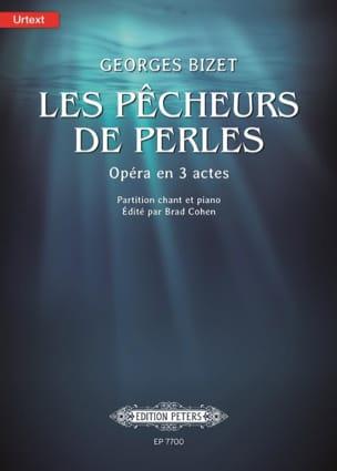 Les pêcheurs de perles BIZET Partition Opéras - laflutedepan