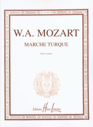 Marche Turque. 4 Mains MOZART Partition Piano - laflutedepan