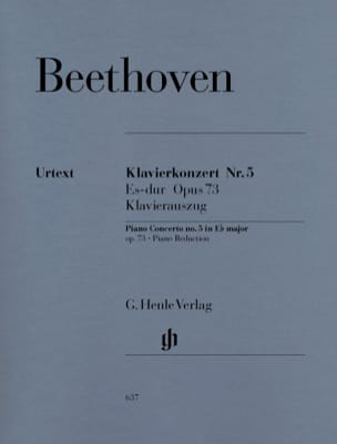 Concerto pour Piano N°5 BEETHOVEN Partition Piano - laflutedepan