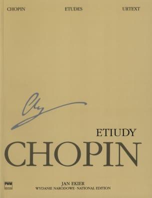 Etudes CHOPIN Partition Piano - laflutedepan