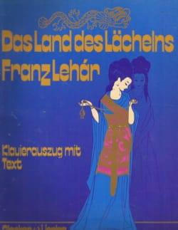 Das Land des Lachelns LEHAR Partition Opéras - laflutedepan