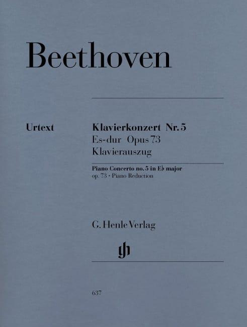 Concerto pour Piano N°5 - BEETHOVEN - Partition - laflutedepan.com