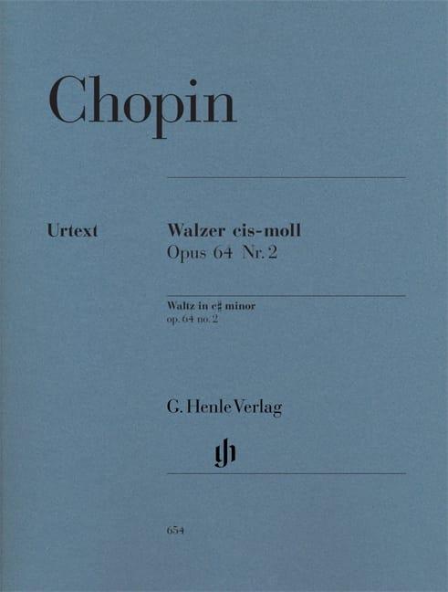 Valse Do dièse Mineur Opus 64-2 - CHOPIN - laflutedepan.com