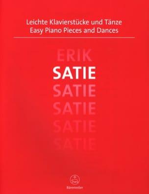 Easy Piano Pieces and Dances SATIE Partition Piano - laflutedepan