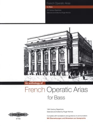 French Operatic Arias Basse Partition Opéras - laflutedepan
