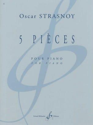 5 Pièces Oscar Strasnoy Partition Piano - laflutedepan