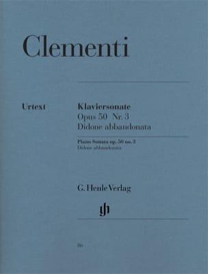 Sonate pour piano Didone abbandonata Opus 50-3 CLEMENTI laflutedepan