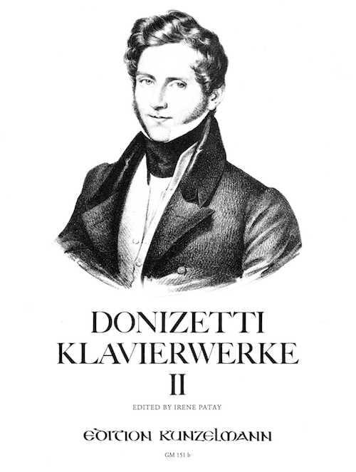 Klavierwerke Volume 2 - DONIZETTI - Partition - laflutedepan.com