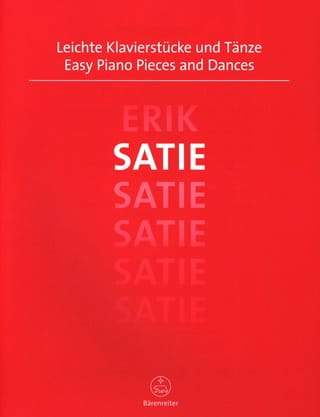 Easy Piano Pieces and Dances - SATIE - Partition - laflutedepan.com