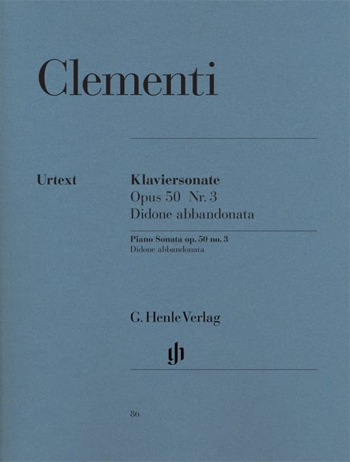 Sonate pour piano Didone abbandonata Opus 50-3 - laflutedepan.com