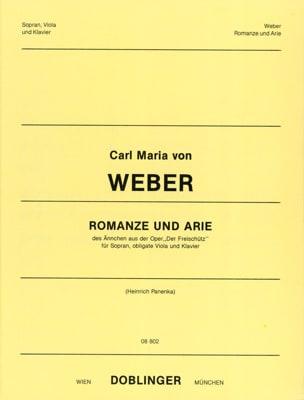 Romanze Und Arie. Der Freischutz Carl Maria von Weber laflutedepan