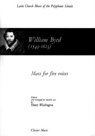 Messe A 5 Voix Willam Byrd Partition Chœur - laflutedepan