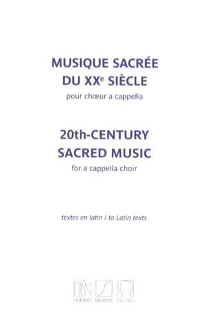 Musique sacrée du 20ème siècle Partition Chœur - laflutedepan