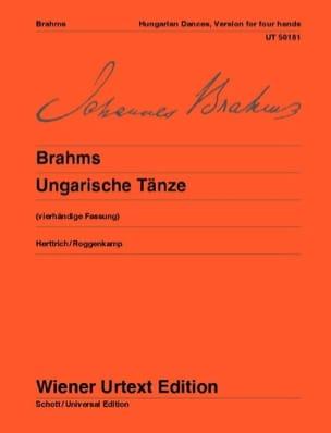 BRAHMS - Ungarische Tänze. 4 Hands - Partition - di-arezzo.co.uk