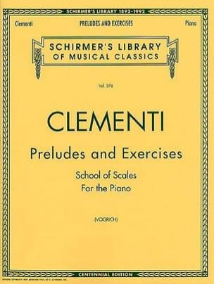 Preludes & Exercises CLEMENTI Partition Piano - laflutedepan