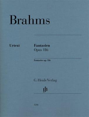 Fantaisies op.116 BRAHMS Partition Piano - laflutedepan