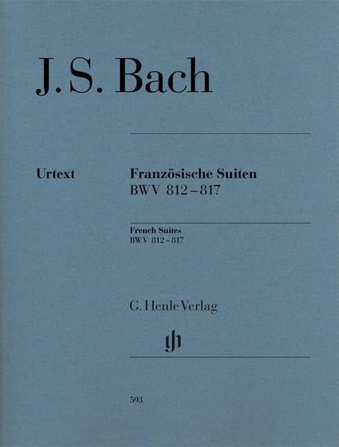 Suites françaises - BACH - Partition - Piano - laflutedepan.com