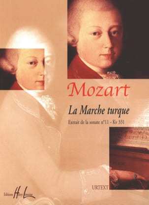 Marche Turque MOZART Partition Piano - laflutedepan