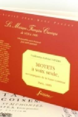 Motets A Voix Seule - Guillaume-Gabriel Nivers - laflutedepan.com