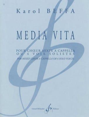 Media Vita Karol Beffa Partition Chœur - laflutedepan