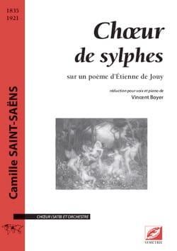 Choeur des Sylphes SAINT-SAËNS Partition Chœur - laflutedepan