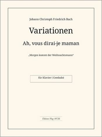 Variations Ah, vous Dirai-Je Maman - laflutedepan.com