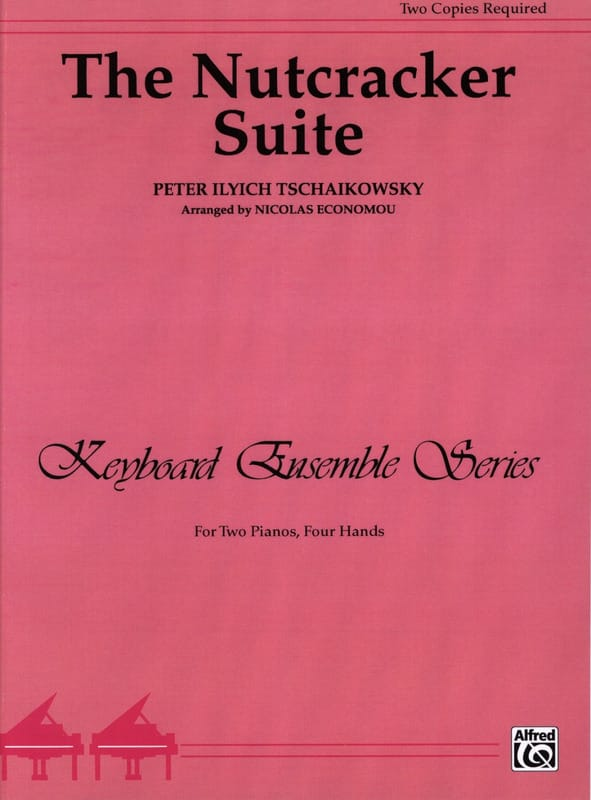 Nutcracker Suite Opus 71. 2 Pianos - TCHAIKOVSKY - laflutedepan.com