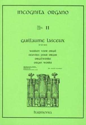 Oeuvres Pour Orgue Volume 1 Guillaume Lasceux Partition laflutedepan