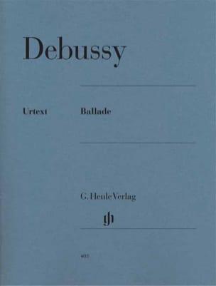 Ballade DEBUSSY Partition Piano - laflutedepan