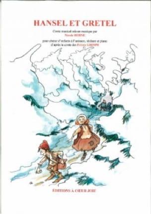 Hansel et Gretel - Nicole Berne - Partition - laflutedepan.com