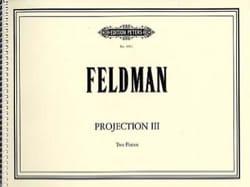 Projection 3 - Morton Feldman - Partition - Piano - laflutedepan.com