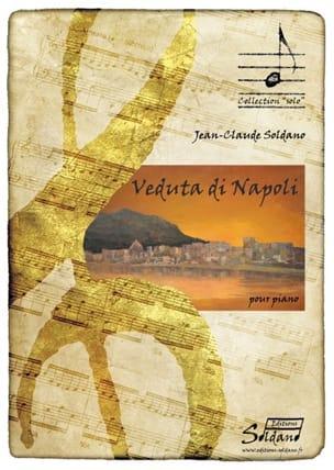 Veduta Di Napoli Jean-Claude Soldano Partition Piano - laflutedepan