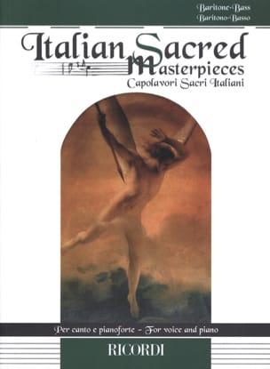 Italian Sacred Masterpieces. Baryton - Basse Partition laflutedepan