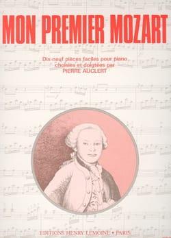 Mon Premier Mozart MOZART Partition Piano - laflutedepan